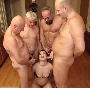 Sexy Girls Gangbang Porn Pictures